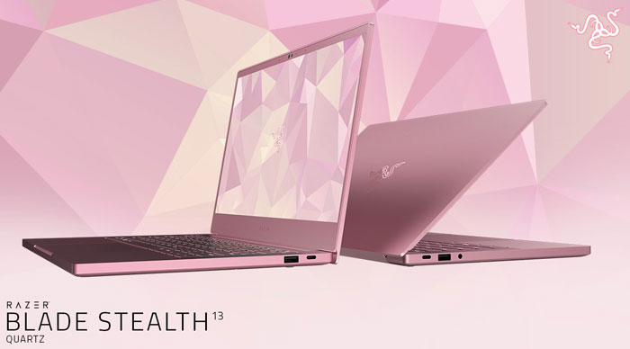 razer blade stealth 13 quartz pink announced for valentines laptop news. Black Bedroom Furniture Sets. Home Design Ideas