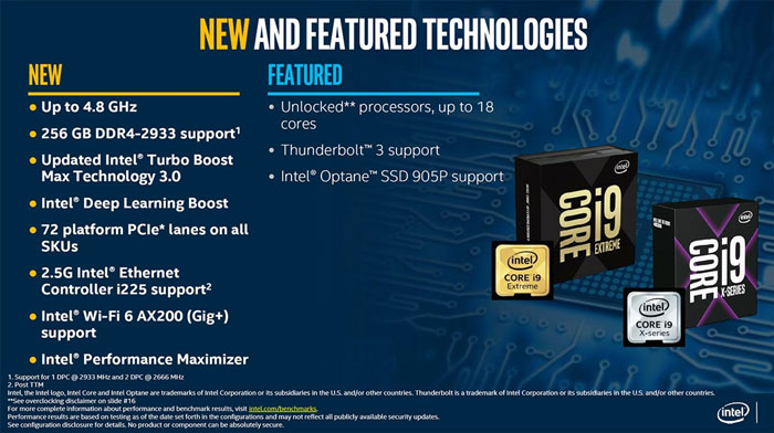 Intel launches 10th Gen X-Series HEDT processors - CPU - News