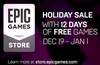 Epic's 12 days of free games starts Thursday