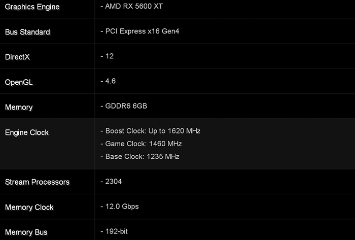 AMD Radeon RX 5600XT leaked - possible CES 2020 launch
