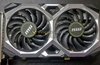 MSI GeForce GTX 1660 Ti Ventus XS graphics card pictured