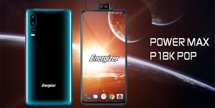 Energizer shows off phone with 18,000mAh battery