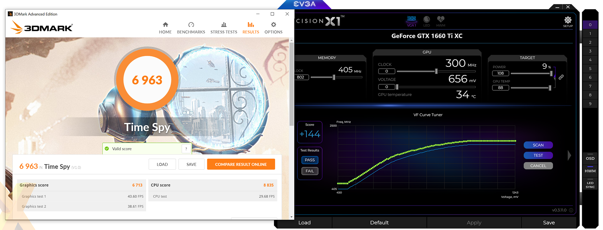 Review: Palit GeForce GTX 1660 Ti StormX - Graphics - HEXUS net