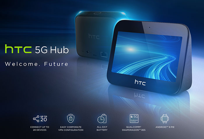 HTC Unveils Innovative New 5G Mobile Smart Hub
