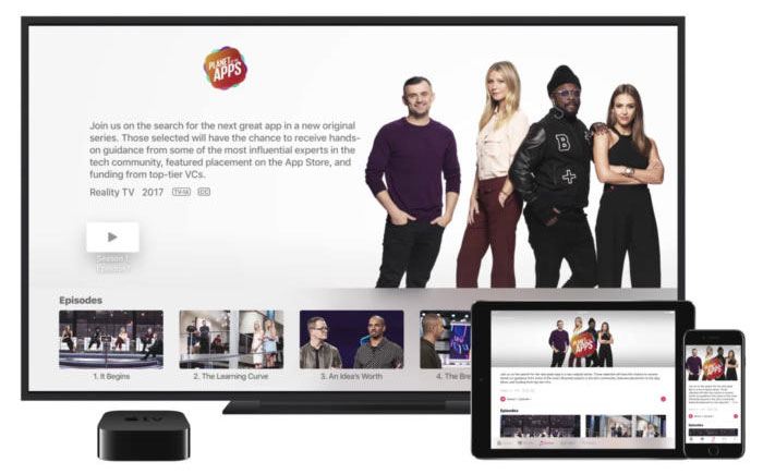Apple's video streaming subscription service due in April