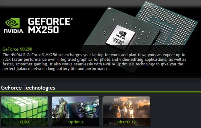 Nvidia adds GeForce MX230 and MX250 laptop GPU options - Graphics