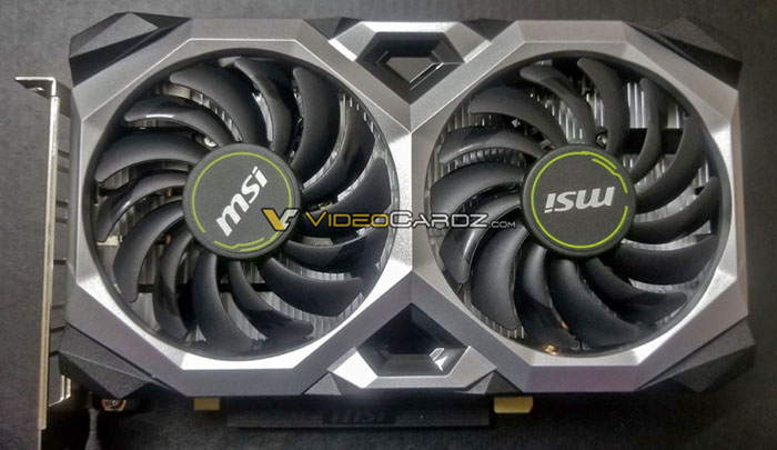 MSI GeForce GTX 1660 Ti Ventus XS graphics card pictured - Graphics