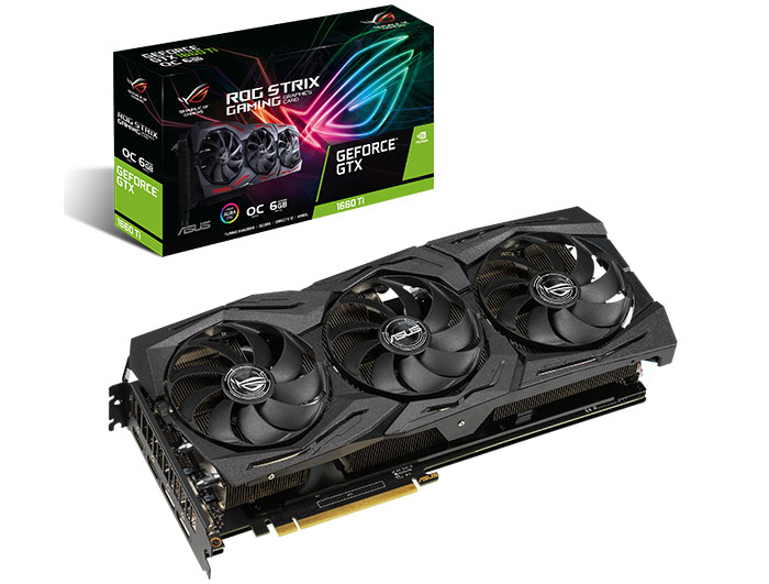 Image result for ASUS GTX 1660 TI STRIX