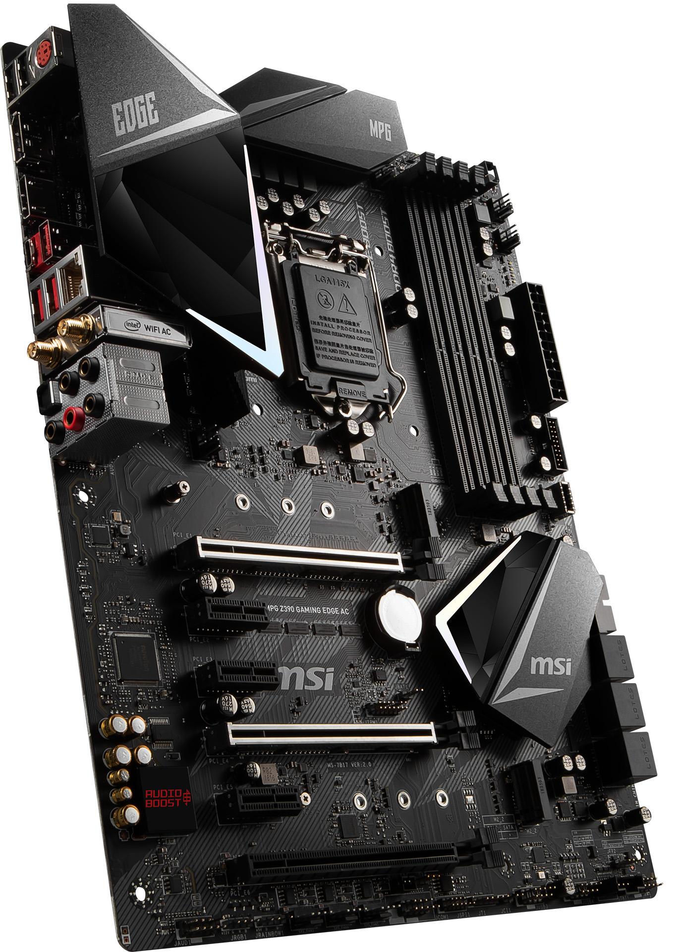 Review: MSI MPG Z390 Gaming Edge AC - Mainboard - HEXUS net