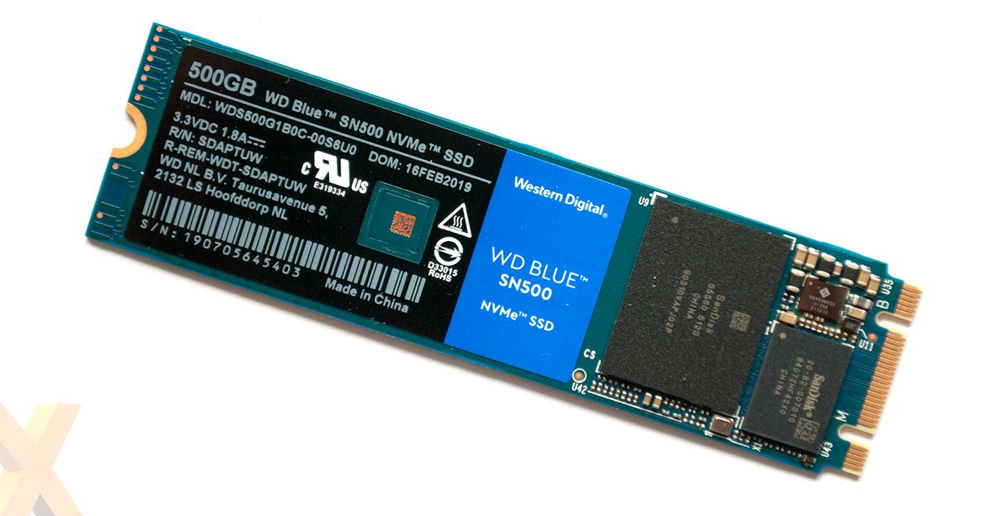 Review: WD Blue SN500 NVMe SSD (500GB) - Storage - HEXUS net