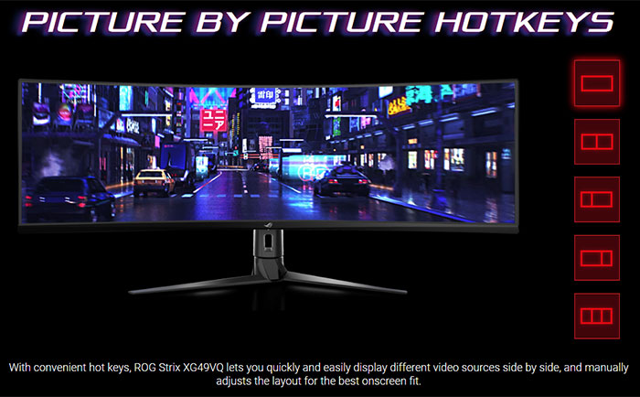 Asus RoG Strix XG49VQ 49-inch 1800R gaming monitor available