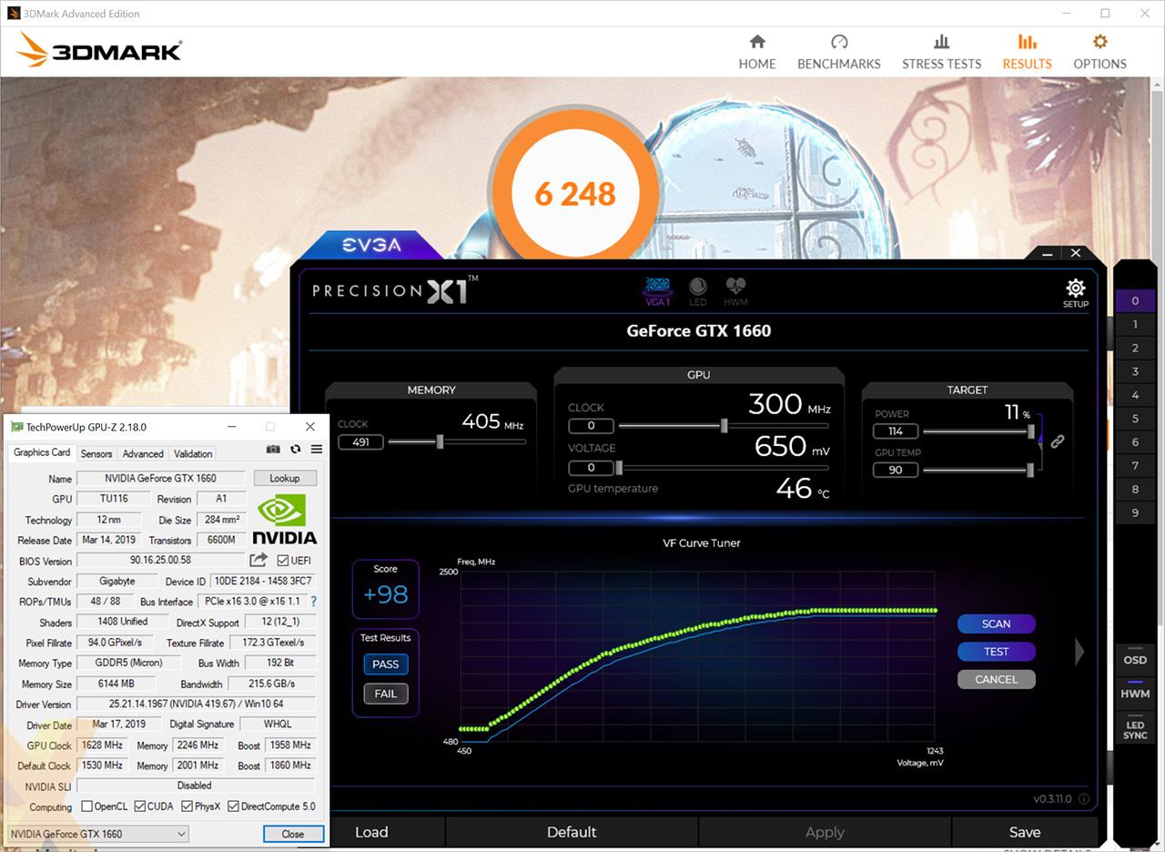Review: Gigabyte GeForce GTX 1660 Gaming OC - Graphics - HEXUS net