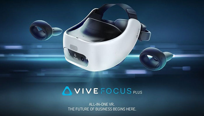 HTC announces $800 Vive Focus Plus standalone VR headset for $800