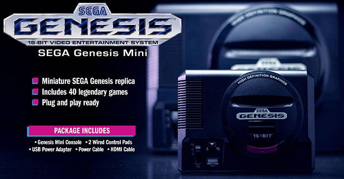Sega Genesis Mini launched, arrives on 19th Sept - Hardware - News