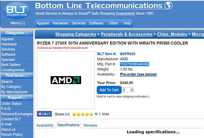 AMD's 50th anniversary will precipitate special CPUs, GPUs