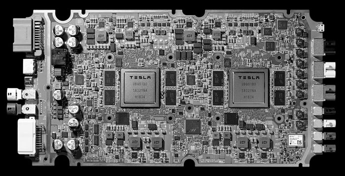 Tesla dumps Nvidia, will use its own self-driving chips