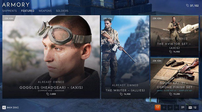 Battlefield Currency, based on real money, goes live