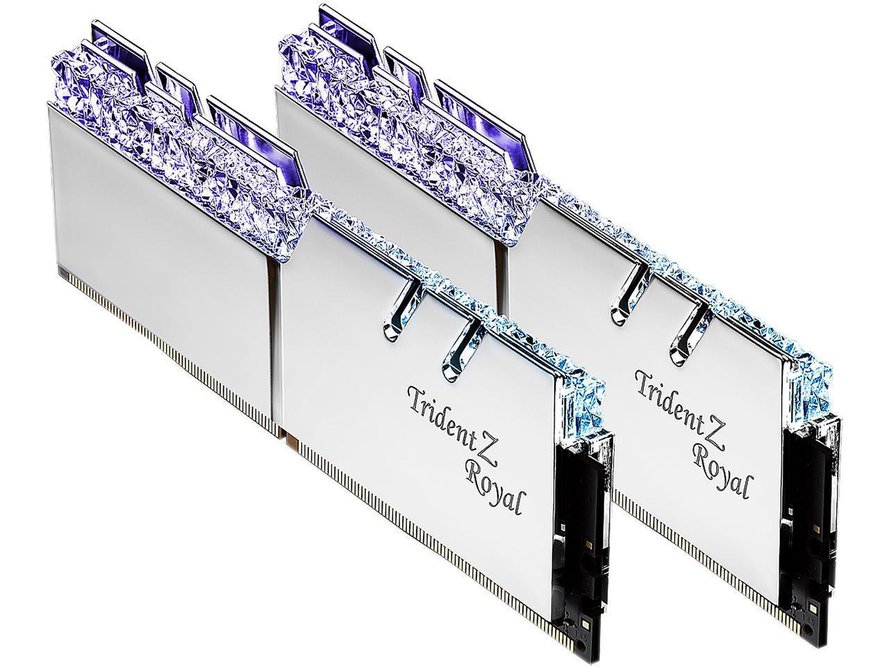 Review: G Skill Trident Z Royal 16GB DDR4-3600 (F4-3600C18D