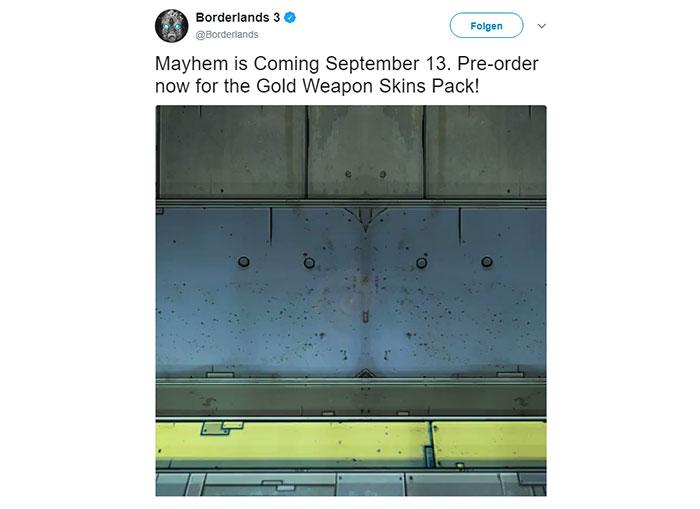 Borderlands 3 leak: Fri 13th Sept release via Epic Games
