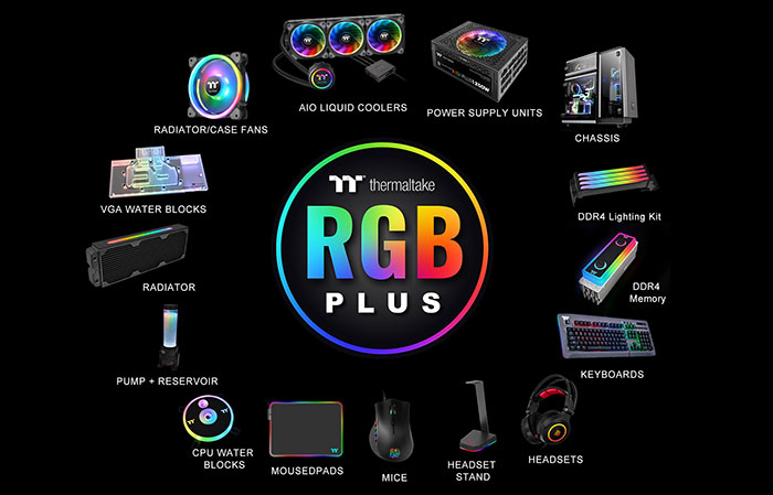 Thermaltake releases its Level 20 RGB Battlestation Gaming