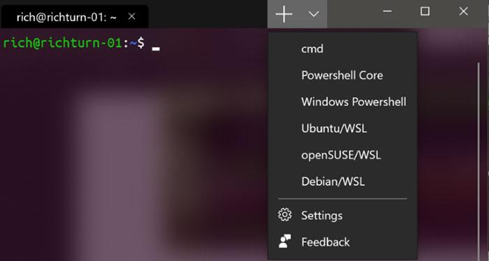 Microsoft announces Windows Terminal command line app