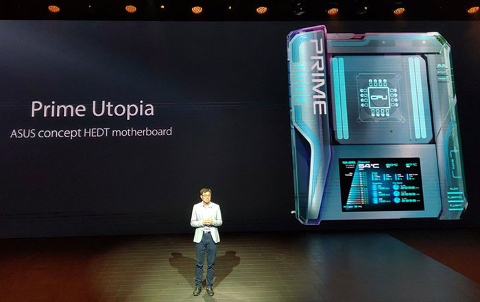 Asus showcases Prime Utopia motherboard concept - Mainboard - News
