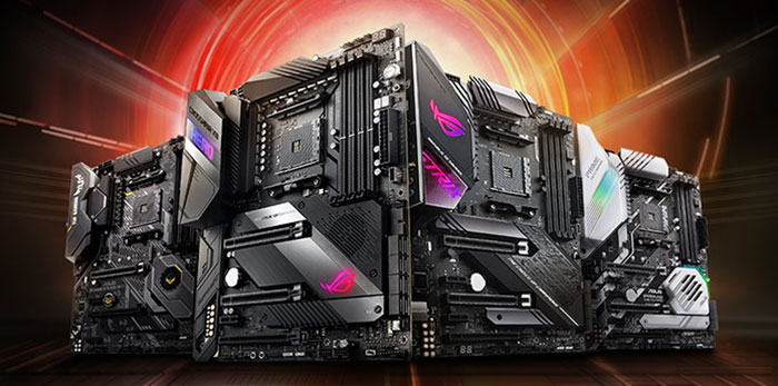 Asus, Gigabyte and MSI show off AMD X570 motherboards