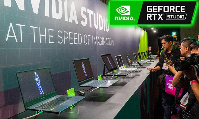 Nvidia Studio certified creator laptops unveiled - Laptop