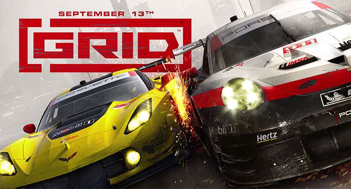 GRID reboot arrives on consoles and PC on 13th September