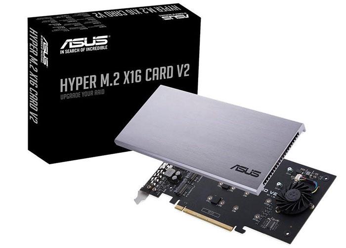 Asus updates Hyper M 2 x16 V2 NVMe RAID card - Storage - News