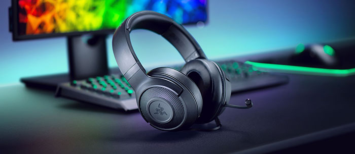 Razer intros Kraken X ultra-light wired gaming headset