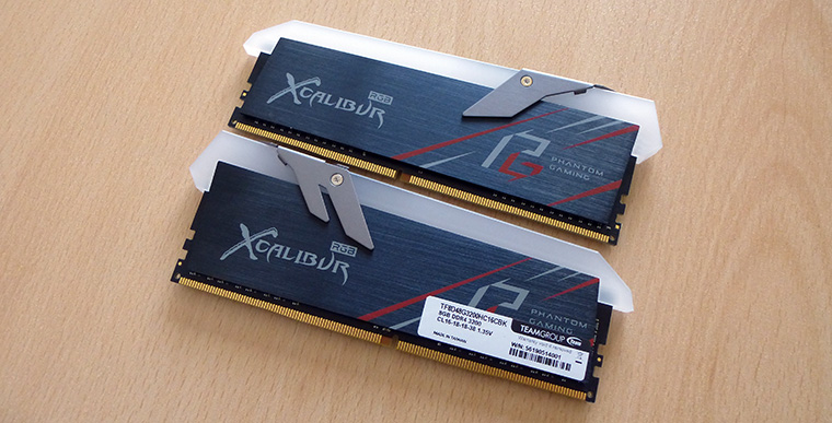 Review: Team Group XCalibur Phantom Gaming RGB 16GB DDR4