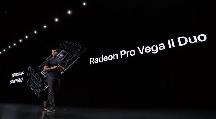AMD announces Radeon Pro Vega II and Pro Vega II Duo GPUs
