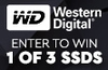 Win one of three WD NVMe SSDs
