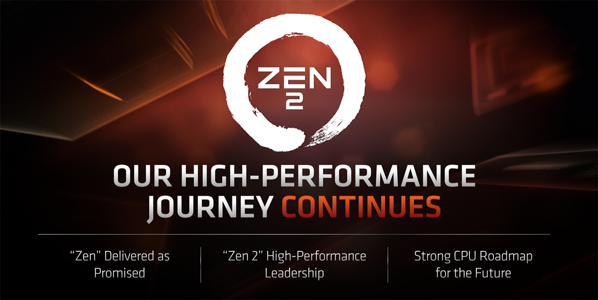 The architecture behind AMD's Zen 2 and Ryzen 3000 CPUs