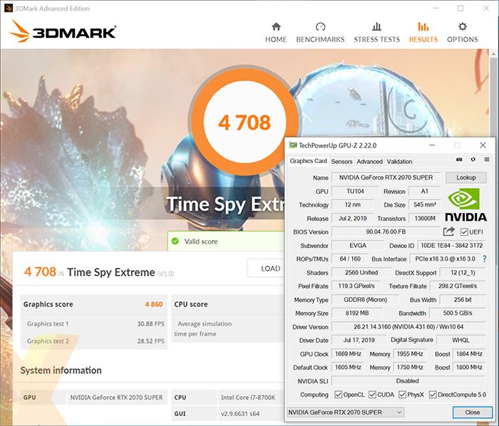 Review: EVGA GeForce RTX 2070 Super XC Gaming - Graphics - HEXUS net