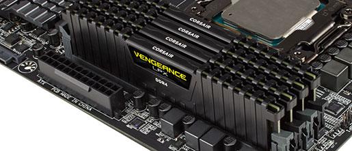 Corsair 32GB Vengeance LPX DDR4 memory modules launched