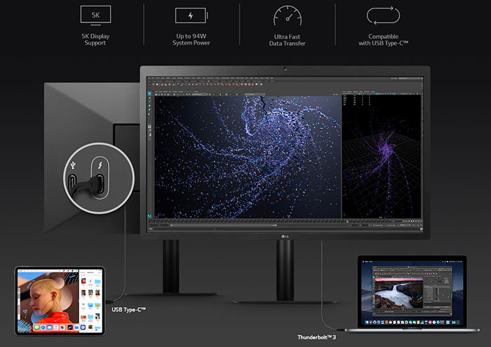 LG Unveil 5K Monitor For Apple Products