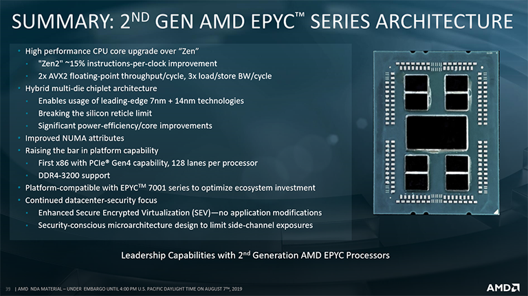 Review: AMD Epyc 7742 2P Rome Server - CPU - HEXUS net - Page 2