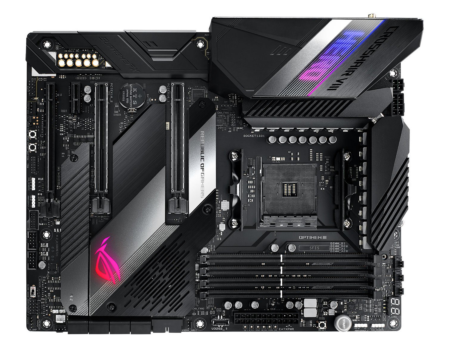 Review Asus Rog Crosshair Viii Hero Wifi Mainboard Hexus Net