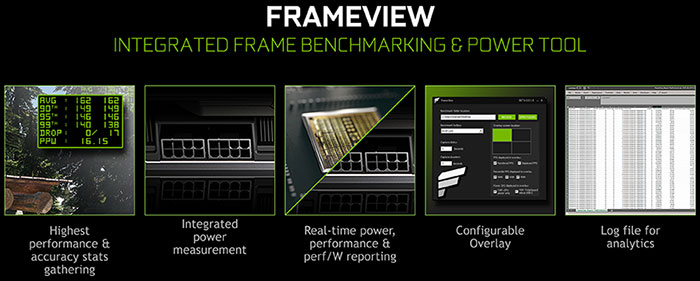 Nvidia FrameView all-in-one benchmarking app launched