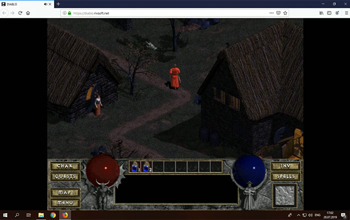Play the original Diablo from 1996 on your browser now