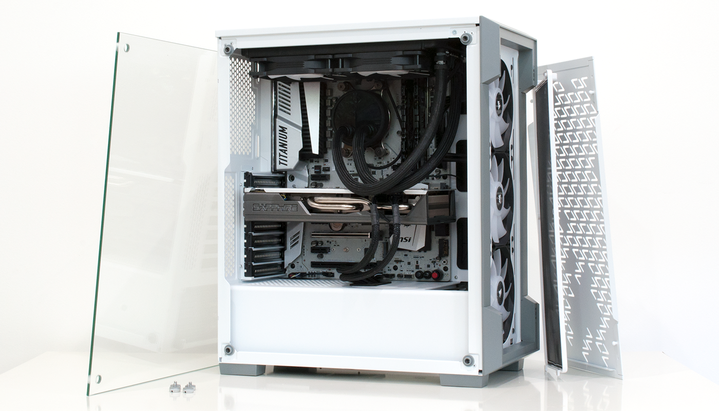 Review: Corsair iCue 220T RGB Airflow - Chassis - HEXUS net