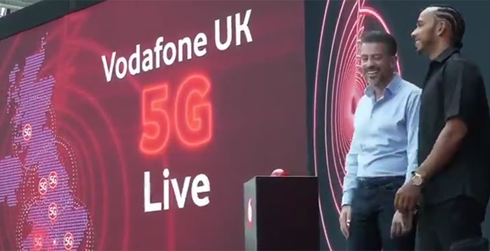 Vodafone UK switches on 5G service, with unlimited data plans