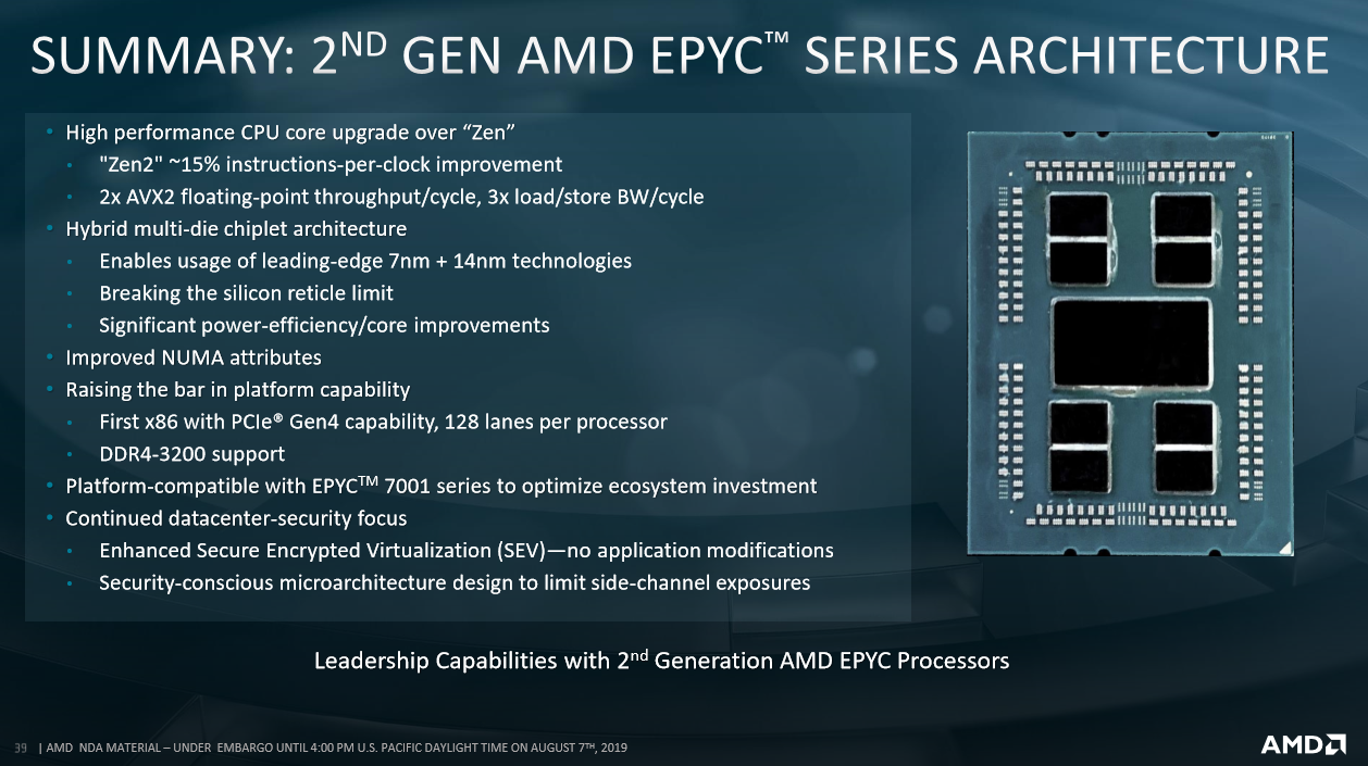 Review: AMD Epyc 7742 2P Rome Server - CPU - HEXUS net - Page 2