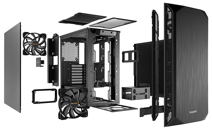 be quiet! Pure Base 500 PC case now available - Chassis