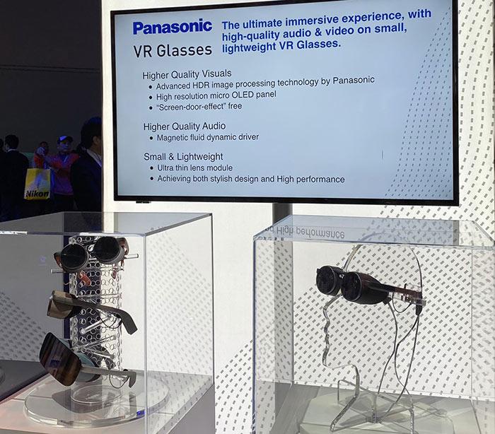 Panasonic unveils insane new VR glasses