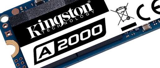Review: Kingston A2000 NVMe PCIe SSD (1TB)
