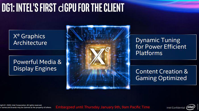 Intel Xe: One GPU Architecture To Rule Them All
