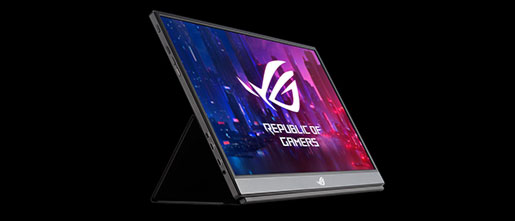 Asus ROG Strix XG17AHPE is a 17-inch portable gaming monitor